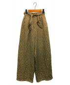 ()の古着「Ranch Wide Pants」|オリーブ