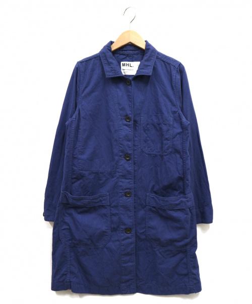 MHL(エムエイチエル)MHL (エムエイチエル) ショップコート ブルー サイズ:1の古着・服飾アイテム