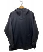 Dulcamara(ドゥルカマラ)の古着「よそいきプルオーバーZIPパーカー」|ブラック