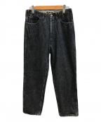 WESTOVERALLS(ウエストオーバーオールズ)の古着「デニムパンツ」 ブラック