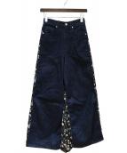 CLANE(クラネ)の古着「ドッキングパンツ」|インディゴ