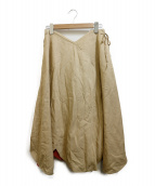 leur logette(ルールロジェット)の古着「スカート」 ベージュ