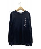 LONELY/論理(ロンリー)の古着「Tシャツ」|ブラック
