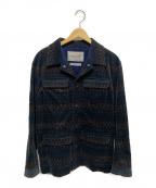 Casely-Hayford(ケイスリーヘイフォード)の古着「ベロアジャケット」|グレー