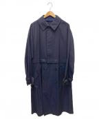 Casely-Hayford(ケイスリーヘイフォード)の古着「トレンチコート」|ネイビー
