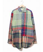 Engineered Garments(エンジニアードガーメンツ)の古着「切替マドラスチェックシャツ」