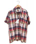 Engineered Garments(エンジニアードガーメンツ)の古着「EG CAMP/SH CR/C」|レッド