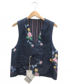 Engineered Garments(エンジニアドガーメンツ)の古着「EG RV/VT SERSUK」|ネイビー