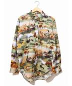 Engineered Garments WORKADAY(エンジニアードガーメンツワークデー)の古着「BD Shirt - Western Trail Print」
