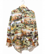 Engineered Garments WORKADAY(エンジニアドガーメンツ ワーカデイ)の古着「BD Shirt - Western Trail Print」