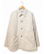 Engineered Garments WORKADAY(エンジニアドガーメンツ ワーカデイ)の古着「Utility Jacket-Workers St. Can」|ホワイト