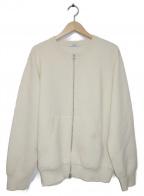 SLOANE(スローン)の古着「ジップアップカーディガン」|ホワイト