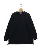 ENFOLD(エンフォルド)の古着「サイドベンツスウェット」|ブラック