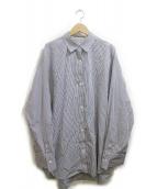 AP STUDIO(エーピーステゥディオ)の古着「エンブロイダリーシャツ」|ブルー