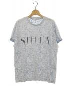 ()の古着「ロゴフラワーTシャツ」