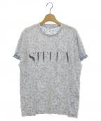 STELLA McCARTNEY()の古着「ロゴフラワーTシャツ」