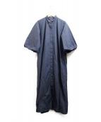 SOFIE DHOORE(ソフィードール)の古着「ワンピース」|ネイビー