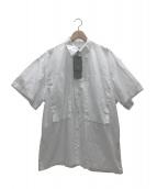 E.TAUTZ(イートーツ)の古着「ラインマンシャツ」 ホワイト