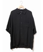 syte(サイト)の古着「オープンカラーシャツ」 ブラック