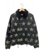 WACKO MARIA(ワコマリア)の古着「スター柄デッキジャケット」|ブラック