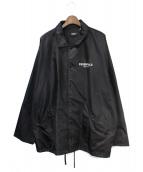 FOG ESSENTIALS(フィアオブゴット エッセンシャル)の古着「コーチジャケット」|ブラック