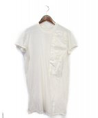DRKSHDW(ダークシャドウ)の古着「ポケットカットソー」|ミルクホワイト
