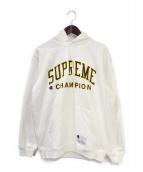 Supreme(シュプリーム)の古着「17SS Hooded Sweatshirt」|ホワイト