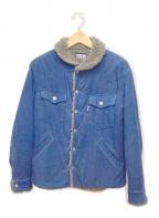 BLUE BLUE(ブルーブルー)の古着「コーデュロイボアジャケット」|インディゴ