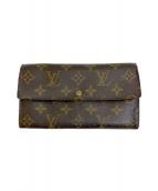 LOUIS VUITTON(ルイヴィトン)の古着「長財布」|ブラウン