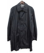 COMME des GARCONS SHIRT(コムデギャルソンシャツ)の古着「ナイロンコート」|ブラック