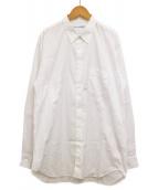 COMME des GARCONS SHIRT(コムデギャルソンシャツ)の古着「レギュラーカラーシャツ」 ホワイト
