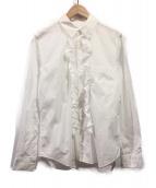 COMME des GARCONS COMME des GARCONS(コムデギャルソンコムデギャルソン)の古着「フリルシャツ」|ホワイト