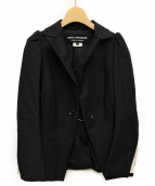 JUNYA WATANABE COMME des GARCONS(ジュンヤワタナベ コムデギャルソン)の古着「切替デザインジャケット」|ブラック