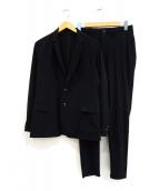 SOLIDO(ソリード)の古着「パッカブルセットアップスーツ」 ネイビー