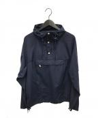Battenwear(バテンウェア)の古着「パッカブルアノラック」 ネイビー