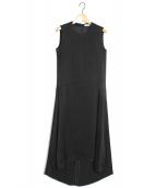 REYC(リック)の古着「バックコクーンドレス」|ブラック
