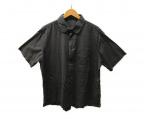 Porter Classic(ポータークラシック)の古着「ハーフスリーブシャツ」|ブラック