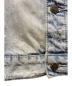 中古・古着 EIVIL (アンヴィル) クラッシュ加工バックフォトデニムジャケット サイズ:XL:6800円