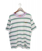 Supreme(シュプリーム)の古着「18SS heather stripe top」