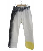 N.HOOLYWOOD(エヌハリウッド)の古着「テーパードデニムパンツ」