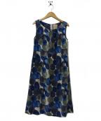 Sybilla(シビラ)の古着「ノースリーブワンピース」 ブルー
