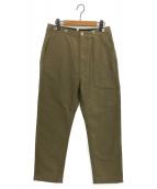 GOLDEN GOOSE(ゴールデングース)の古着「パンツ」|オリーブ