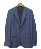 COMME des GARCONS HOMME DEUX(コムデギャルソン オム ドゥ)の古着「2Bセットアップスーツ」|ネイビー