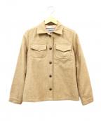 LONDON Tradition(ロンドントラディション)の古着「ウールCPOジャケット」|ベージュ