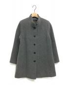 LEILIAN(レリアン)の古着「カシミヤコート」|グレー