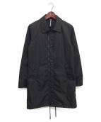 ripvanwinkle(リップヴァンウィンクル)の古着「BENCH COAT/ナイロンコート」 ブラック