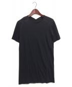 AF ARTEFACT(エーエフ アーティファクト)の古着「ロング丈カットソー」 ブラック