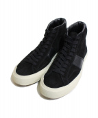 TOM FORD(トム フォード)の古着「CAMBRIDGE HIGH TOP SNEAKERS」|ブラック