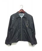 PHINGERIN(フィンガリン)の古着「ボンテージジャケット」|ブラック