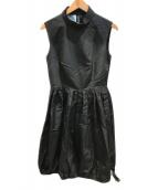 PRADA(プラダ)の古着「ワンピース」|ブラック
